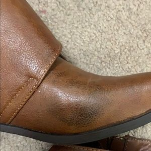 BAMBOO Shoes - Bamboo brown booties size 6.5
